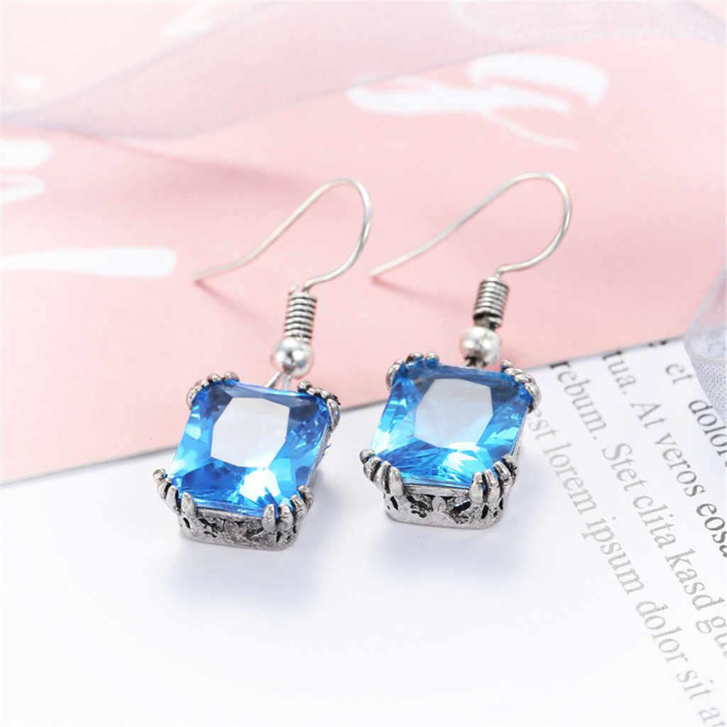 2019 coréen nouvelle mode élégant boucles d'oreilles mode Simple européen et américain boucles d'oreilles dames sauvages bijoux de mode # W0