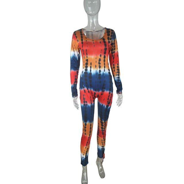 Mono Sexy de manga larga de camuflaje para mujer, pantalones pitillo de corte bajo, ropa de calle para club nocturno, 2021 6
