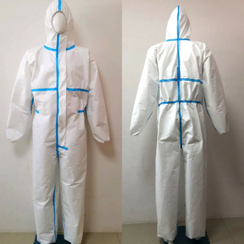 Disposable and Coverall Medical Protective Clothing Used as Isolation Suit for Patients and Hospital Staff 3