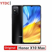 2020 nova honra x10 max 5g telefone inteligente 7.09 polegada rgbw tela 5000ma bateria nfc 6gb 8gb ram 128gb rom principal 4800mp super carregador