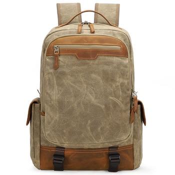 Multifunctional Batik Canvas Camera Backpack Dslr Camera Bag Outdoor Waterproof Large Capacityphotography Bag for Dslr Camera