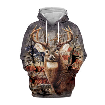 Tessffel Hunter Animal Camo Fashion Tracksuit 3DPrint Hoodie/Sweatshirt/Jacket/Mens Womens colorful casual Harajuku type9 1