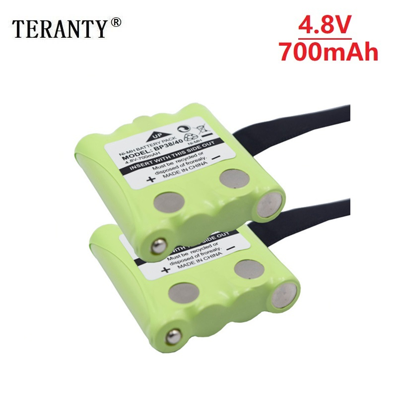 4.8V 700MAH NI-MH Rechargeable Battery Pack For Uniden BP-38 BP-40 BT-1013 BT-537 GMR FRS 2Way Radio Battery Pack
