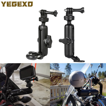 Motorcycle Camera Holder Handlebar Mirror Mount Bracket For HONDA HORNET CB600 VTX 1300 SH 300 CB 500X MSX125 CBR 600 RR NC 700S image