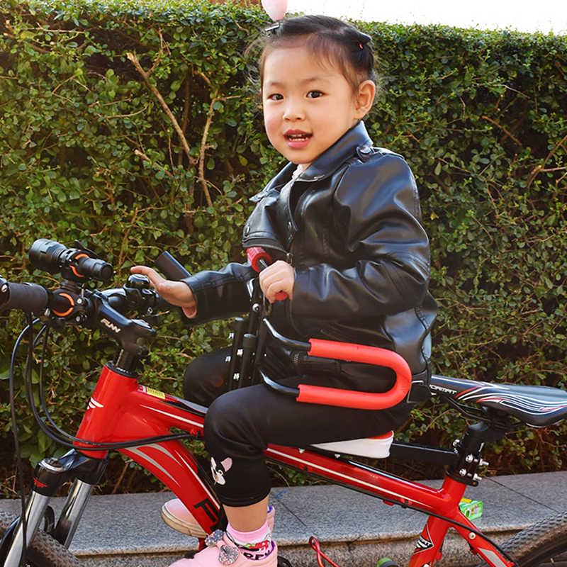 IMBABY, bicicleta eléctrica, remolque, bicicleta para niños, silla para bebés, asiento de seguridad con reposabrazos, barra de pedales, asiento de bicicleta