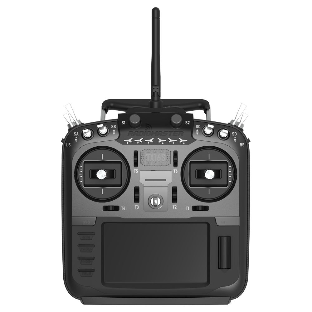 RadioMaster TX16S Hall Sensor Gimbals 2.4G 16CH Multi-protocol RF OpenTX Mode2 Transmitter With Battery For RC Drone Mode 2