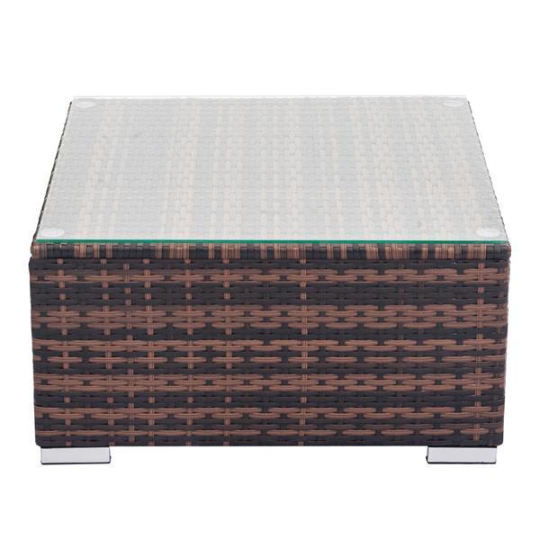 Coffee Table w/  Weaving Rattan  2