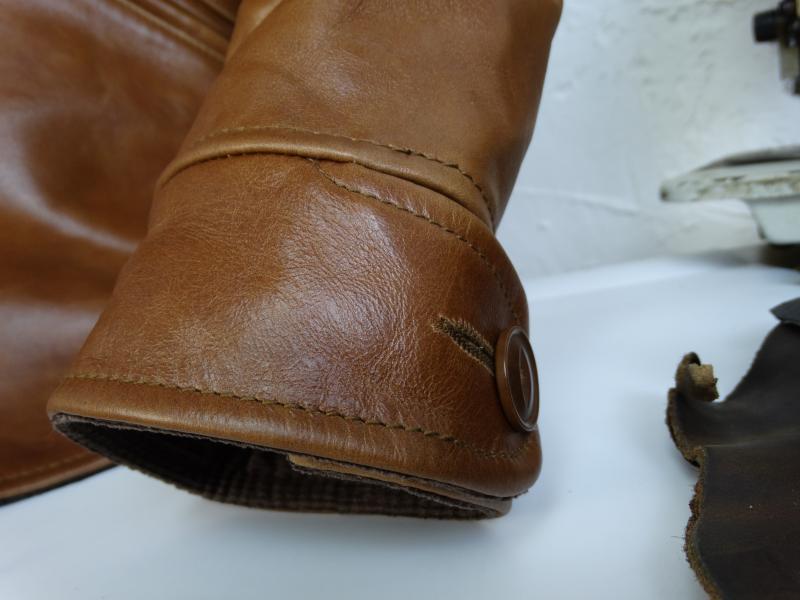 H429bd4af641f4e719fa477db572f68f3z YR!Free shipping.Italy Oil Wax Cowhide coat.Helix Rider genuine leather jacket,winter men vintage brown leather jacket.sales