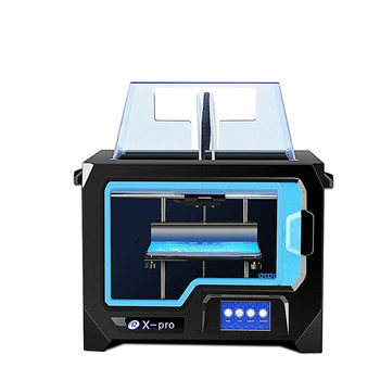 QIDI X-pro Dual Exturder 3D Printer Double Color Printing 200*150*150mm Printing Size Support WIFI Connection - AU Plug