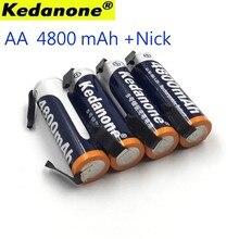 Ni-Mh 1.2 V Aa Oplaadbare Batterij Batterij 4800 Mah Nimh Mobiele Groen Case Ontmoette Lassen Inserts For A Philips Scheerapparaat Scheermes Tan