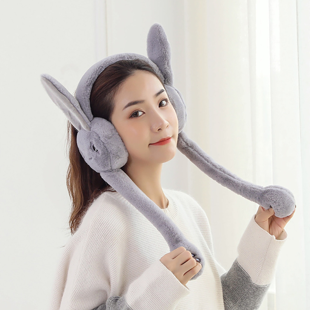 Winter Women Fleece Warmer Earmuff Warm Plush Cloth Ear Muffs Cover Earwarmers Ear Muffs Earlap Warmer Wholesale 30H