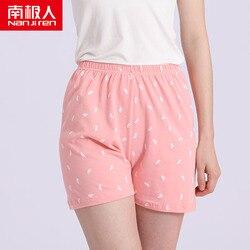 NANJIREN Women Cotton Shorts Home Pajama Sleep Pants Bottoms Summer Casual Beach Pants Sleep Wear Lounge Pajama Plus Size 2/pcs