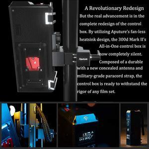 Image 3 - Aputure LS C300d II 300d II LED Video Light COB Light 5500K Daylight with Bowens Mount Outdoor Studio Light Photography Lighting
