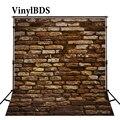 VinylBDS Vintage Fotografie Kulissen Holz Und Ziegel Wand Hintergrund Nackt Baby Große Größe Nahtlose Foto für Foto studio schießen|Hintergrund|Verbraucherelektronik -
