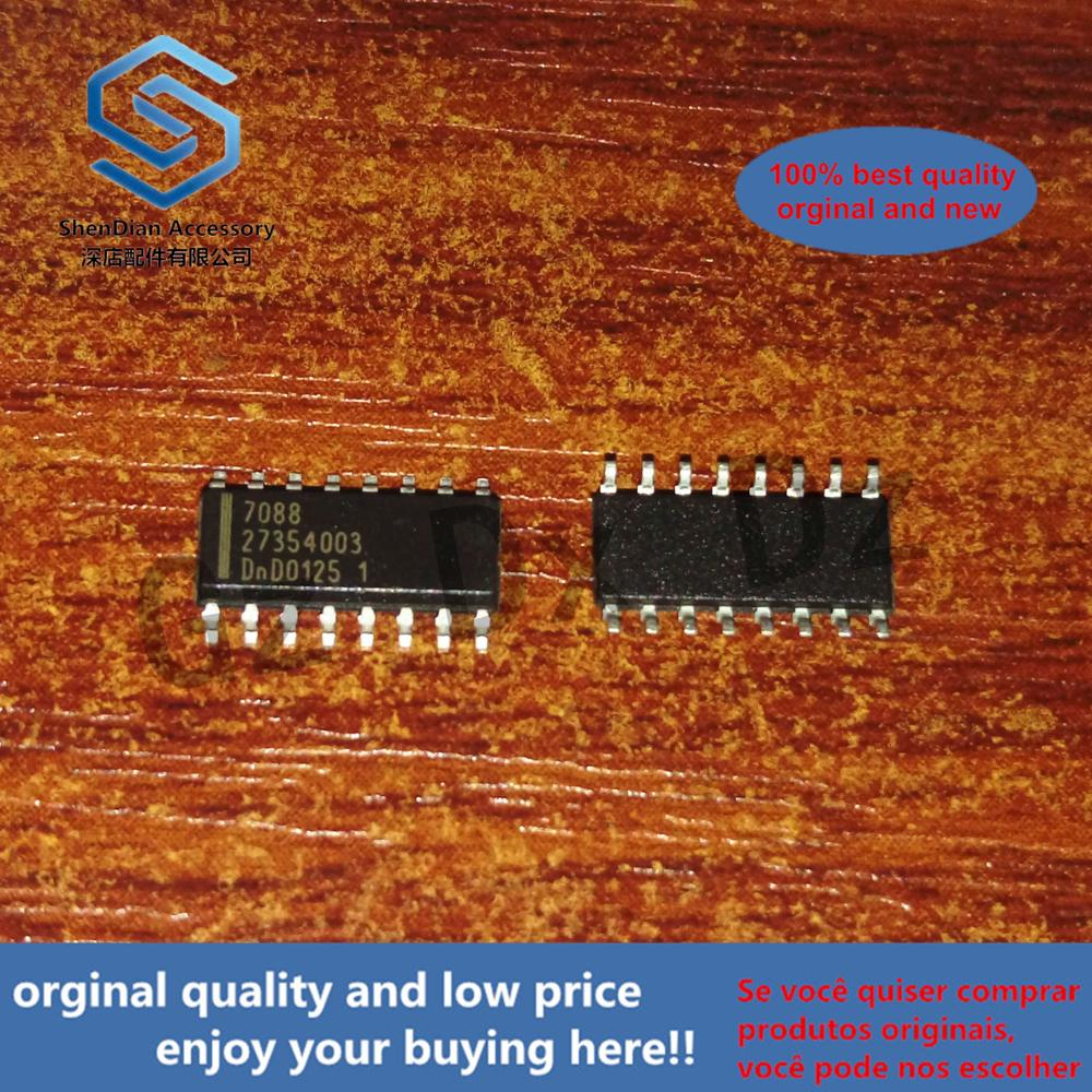 10pcs 100% Orginal New  TDA7088 7088 Electrically Tuned FM Receiver Monolithic SOP-16 Real Photo