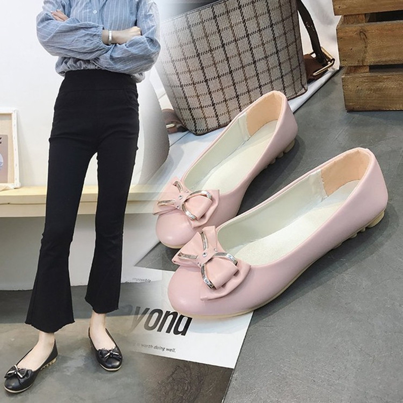 2020 New Spring Autumn Flats Fashion Fresh Color Office Lady Weekends Shoes Slip On Loafers Women Flat Heel Driving Shoes NVX158