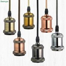 Vintage-Lamp-Socket Light-Bulb Bases Decor Edison Industrial Home E27 for 90-265V