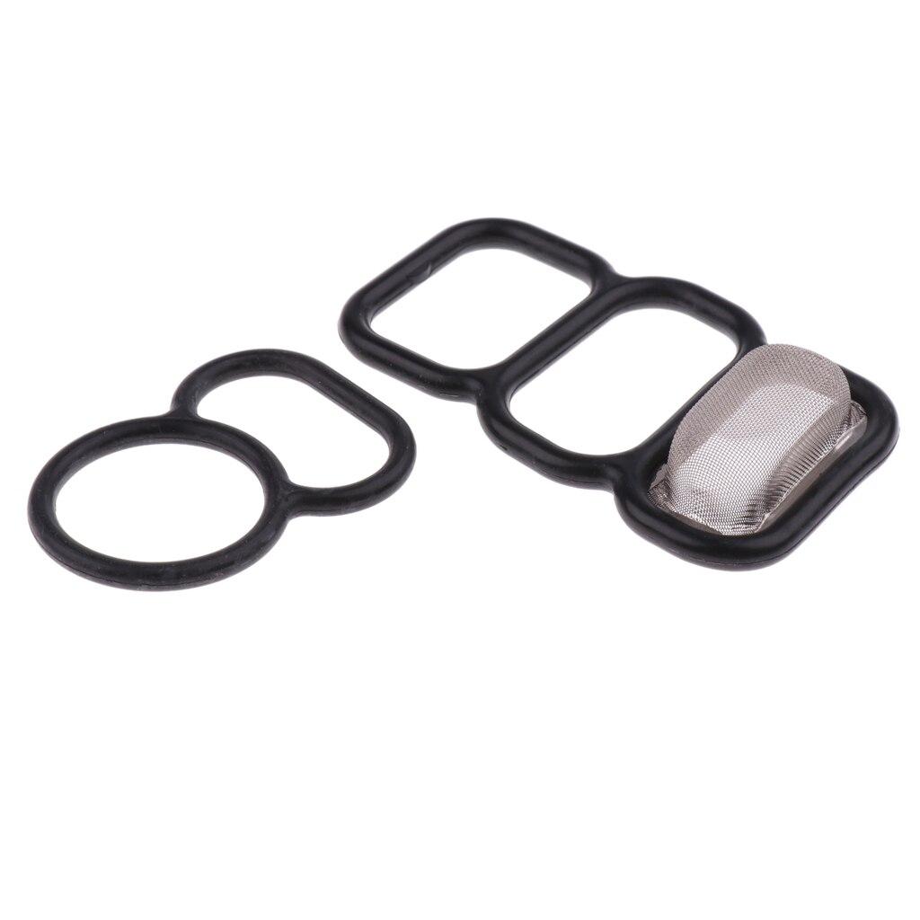 2 Pieces VTEC Solenoid Gasket Spool Valve 15825P0A005 36172P0A005 For Honda