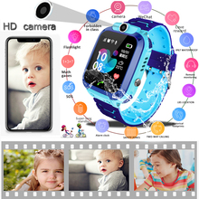 2019 LIGE New Children Smart watch LBS Kid SmartWatches Baby Watch SOS Call Location Finder Locator Tracker Anti Lost Monitor