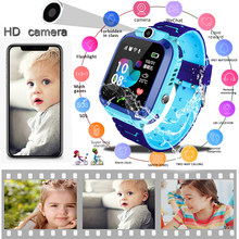 2019 LIGE New Children Smart watch LBS Kid SmartWatches Baby Watch SOS Call Location Finder Locator Tracker Anti Lost Monitor(China)