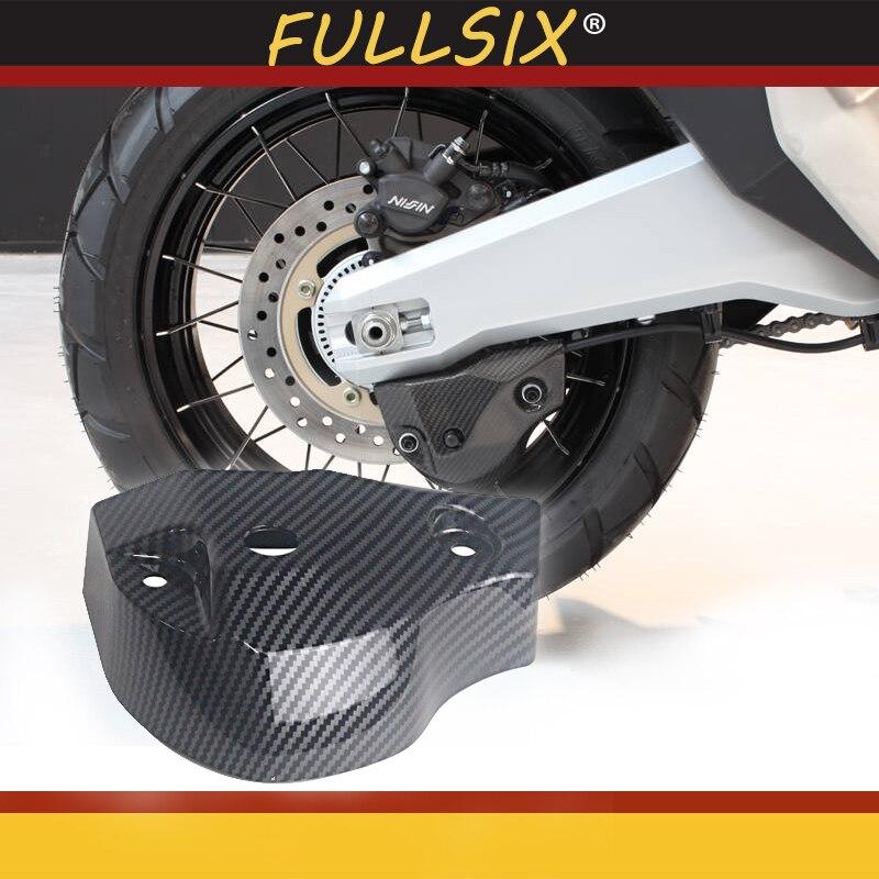 Motorcycle Accessories Carbon Fiber Rear Deck Cover For HONDA XADV300 X-ADV750 Xadv1000 17-19 Rear Caliper Cover
