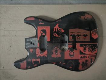 Afanti muzyka DIY gitara DIY gitara elektryczna ciała (MW-403) tanie i dobre opinie None Not sure Beginner Do profesjonalnych wykonań Unisex Nauka w domu CN (pochodzenie) Drewno z Brazylii Electric guitar body