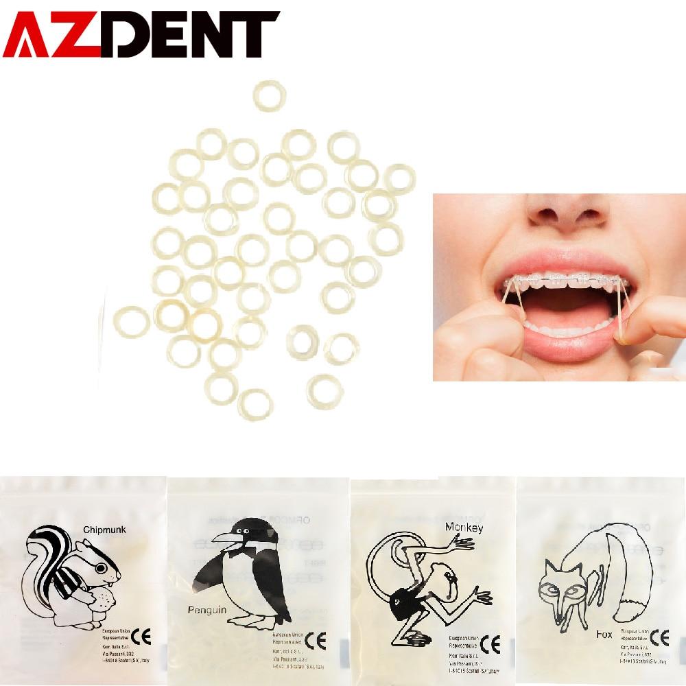 5000pcs Rubbers/box  Dental Rubber Band Traction Rubber Band Dental Ligature Ring Orthodontic Elastics Braces