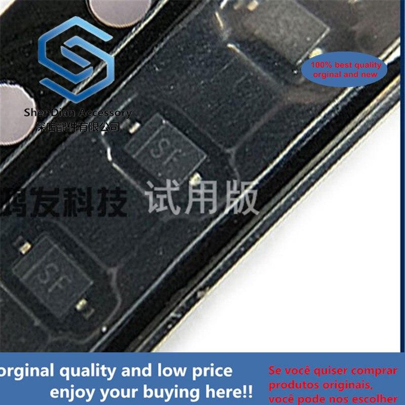 10pcs 100% Orginal New B0540WS-7 SOD-323 0805 0.6y B0540WS-7 SMD SOD-323 0805 Schottky Diode