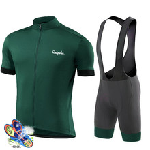 Ralvpha 2021 Cycling Suits Road Bike Wear Clothing Men's Pro Bib Shorts Sets Mtb Bicycle Jersey Clothes Maillot Ciclismo Uniform