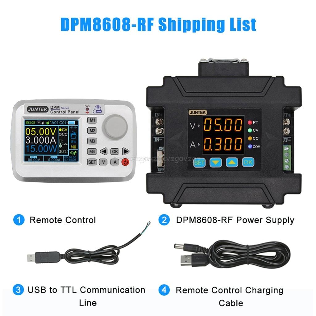 DC-DC abaisseur 0-60V 0-8A DPM8608 télécommande Programmable alimentation Communication courant à tension constante Au22 19