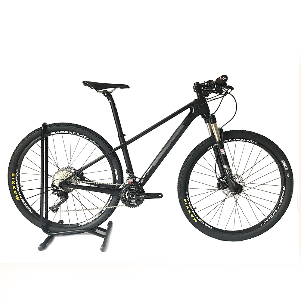 2018 Mountain Mtb Carbon Fiber Bike Complete Bicycle Carbon BICICLETTA Bicycle Bike Group M610 XT Suspension Mtb Bike SLX