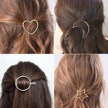 Jewelry-Accessories Hair-Clip Star Heart Girls Fashion Women SMJEL Delicate
