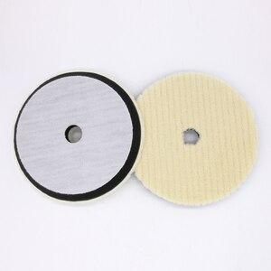Image 2 - Tampon de polissage de laine du japon 6 pouces pour les Kits de garniture de polisseuse de voiture tampon de polissage de finition de laine