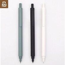 Lápis mecânico youpin kaco, lápis de metal para estudantes e crianças, movimento japonês de 0.5mm