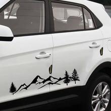 100cm etiqueta do carro árvore montanha noroeste vinil nova marca quente de alta qualidade