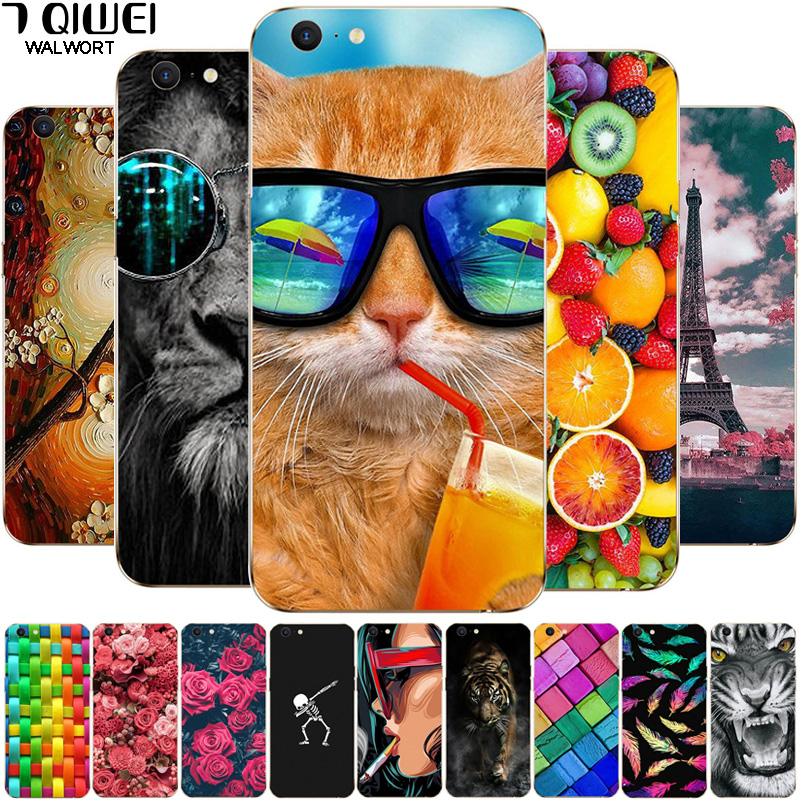 <font><b>Case</b></font> for <font><b>OPPO</b></font> <font><b>A39</b></font> A57 A37 F11 Pro F9 F7 Realme 1 2Pro C1 Phone <font><b>Cases</b></font> Soft TPU Silicone Back Cover for <font><b>OPPO</b></font> Realme 2 Pro F 11 image