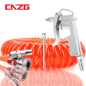 Spray-Gun Car-Duster-Tools Pneumatic-Air-Hose Air-Blow-Compressor-Dust Spiral-Tube-Pipe