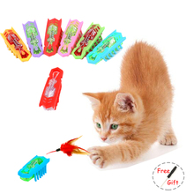 Cat Toy Micro Robotic Bug Toy Hex Bug Electronic Insect Powered Fast Moving Interactive Training Playing Pet Educational Toys