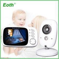 electronic baby monitor wireless audio camera babyfoon niania elektroniczna video vigilabebes connectee wifi videos surve