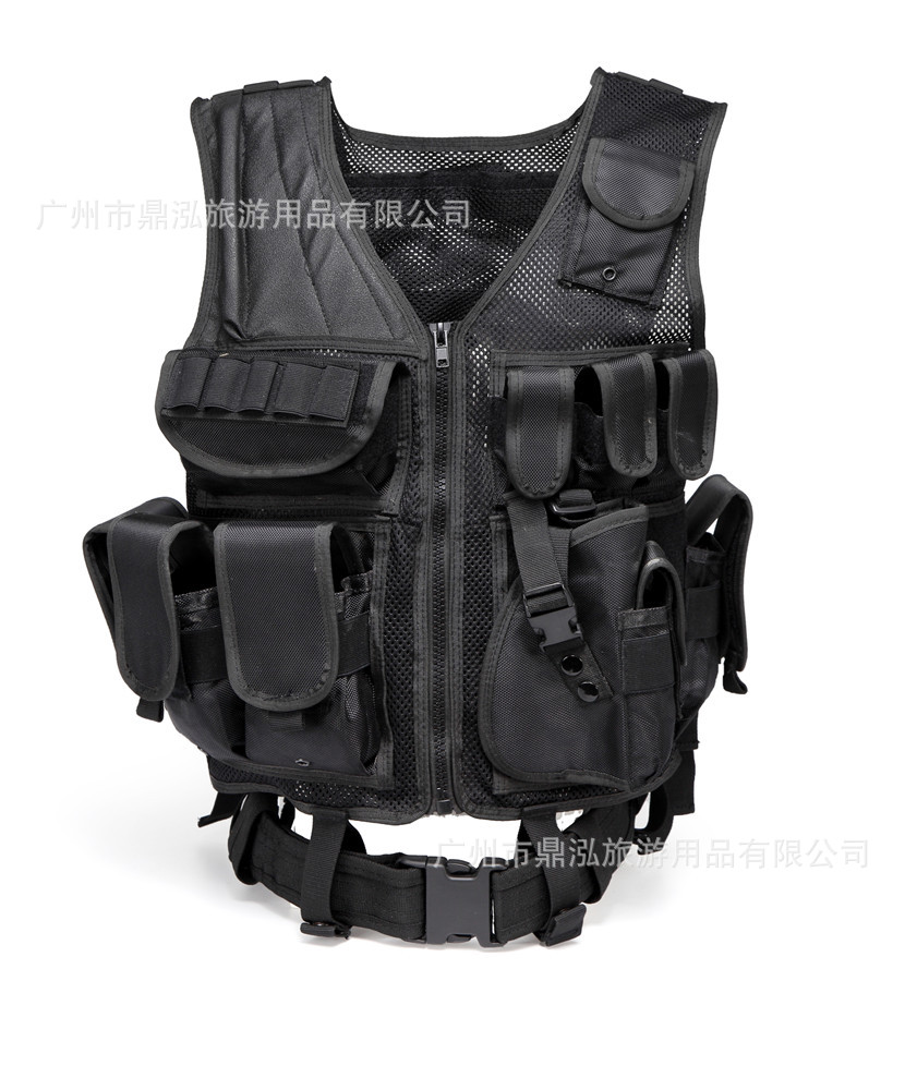 1680D Tactical Vest Waistcoat Multi-functional Special Forces Breathable Army Fans Chicken Waistcoat Field Operations Protection