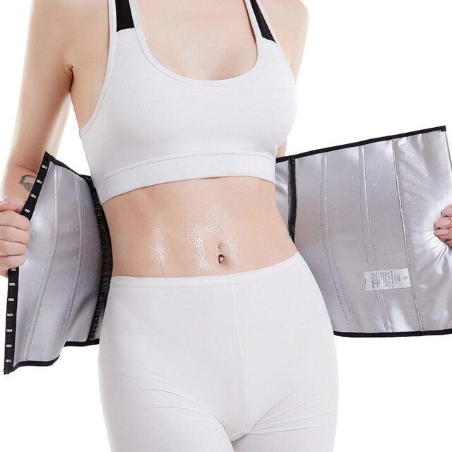 latex waist trainer women's binders and shapers slimming modeling strap corset faja colombian girdles Sweating body shaper belt 2
