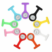Pocket Watches Brooch Silicone Reloj-De-Regalo Fashion for Girls Tunic Simple And Stylish