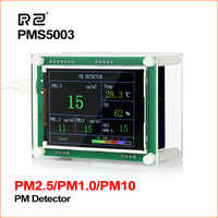 """RZ 2.8"""" Car PM2.5 Detector Air Quality Monitor Tester Meter Home Gas Thermometer Analysis For Home Car Office Outdoors"""