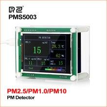 "RZ 2.8 ""רכב PM2.5 גלאי אוויר באיכות צג Tester מטר בית גז מדחום ניתוח לבית רכב משרד בחוץ"