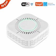 Safe Smoke-Detector Tuya Wifi Fire-Protection Alarm-Sensor Security Portable Smart-Home