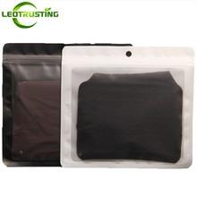Leotrusting 18x17cm Clear Front Plastic Packaging Bags X-mas Socks Underwear Women Panties Pantyhose Sexy Lingerie Packing Bags