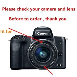 Image 2 - Чехол для фотоаппарата, чехол для защиты экрана от ультрафиолетовых лучей, 15 45 мм, для Canon EOS M50 Mark II M50MK2