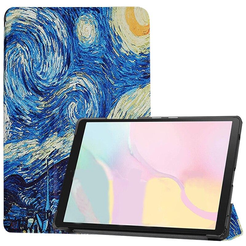 Starry sky Khaki Case ipad Pro 11 2021 A2301 A2459 case PU Leather Tri fold ebook Case Tablets Sleeve