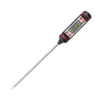 Cyfrowa kuchenna termometr do kuchni do jedzenia termometry mięso mleko termometry termometr piekarnika narzędzie pomiarowe tanie i dobre opinie CN (pochodzenie) JJ2951-00B Termometry kuchenne Metal Tarcza