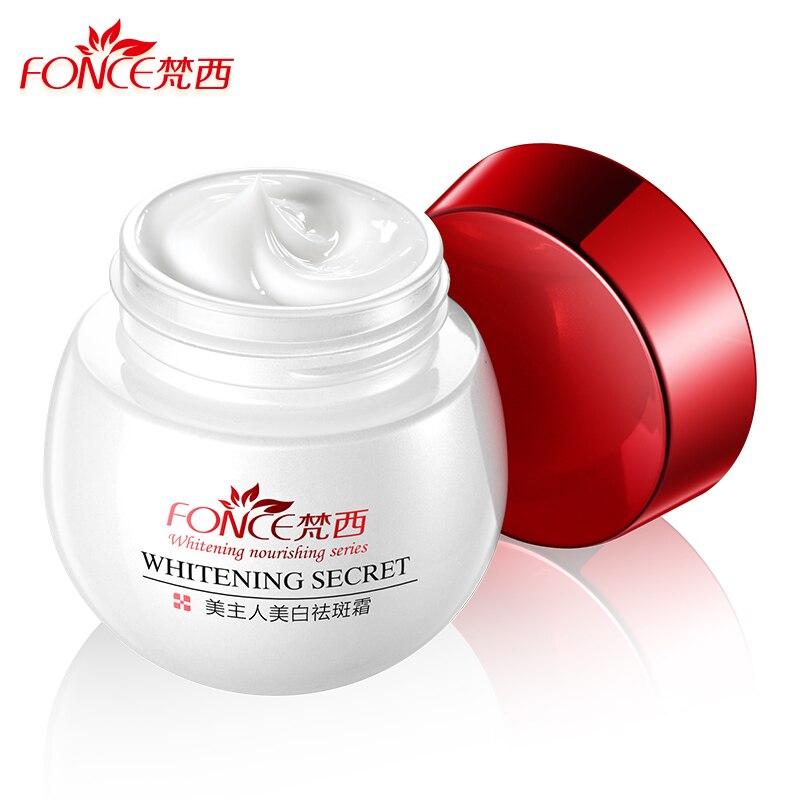 fonce clareamento sardas creme 30g poderoso removedor de manchas escuras anti envelhecimento desvanece se beleza creme